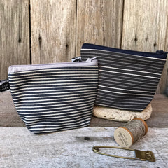 Large linen pouches, purses, handmade in Cambodia available at Tribe Castlemaine