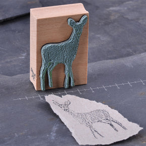High quality woodland animal rubber stamps for papercraft, journalling, snail mail, DIY stationery handmade by Stempel Jazz available at Tribe Castlemaine