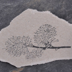 High quality botanical rubber stamps for papercraft, journalling, snail mail, DIY stationery handmade by Stempel Jazz available at Tribe Castlemaine