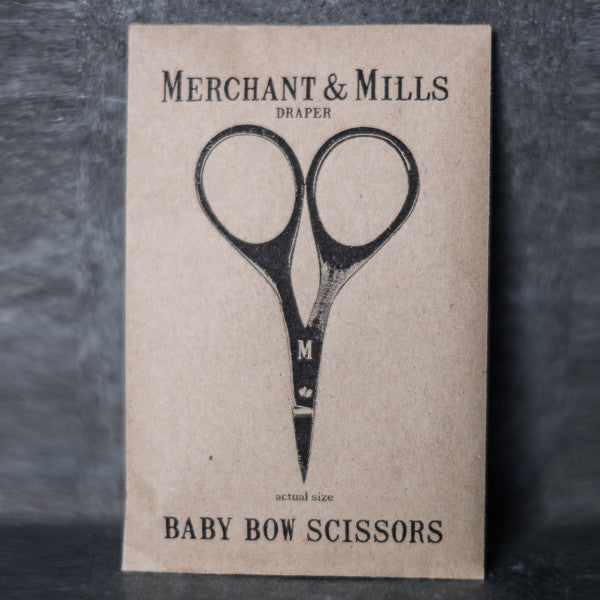 Superior quality baby bow scissors made by Merchant & Mills at Tribe Castlemaine.