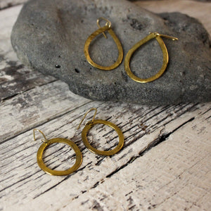 Brass Shape Earrings