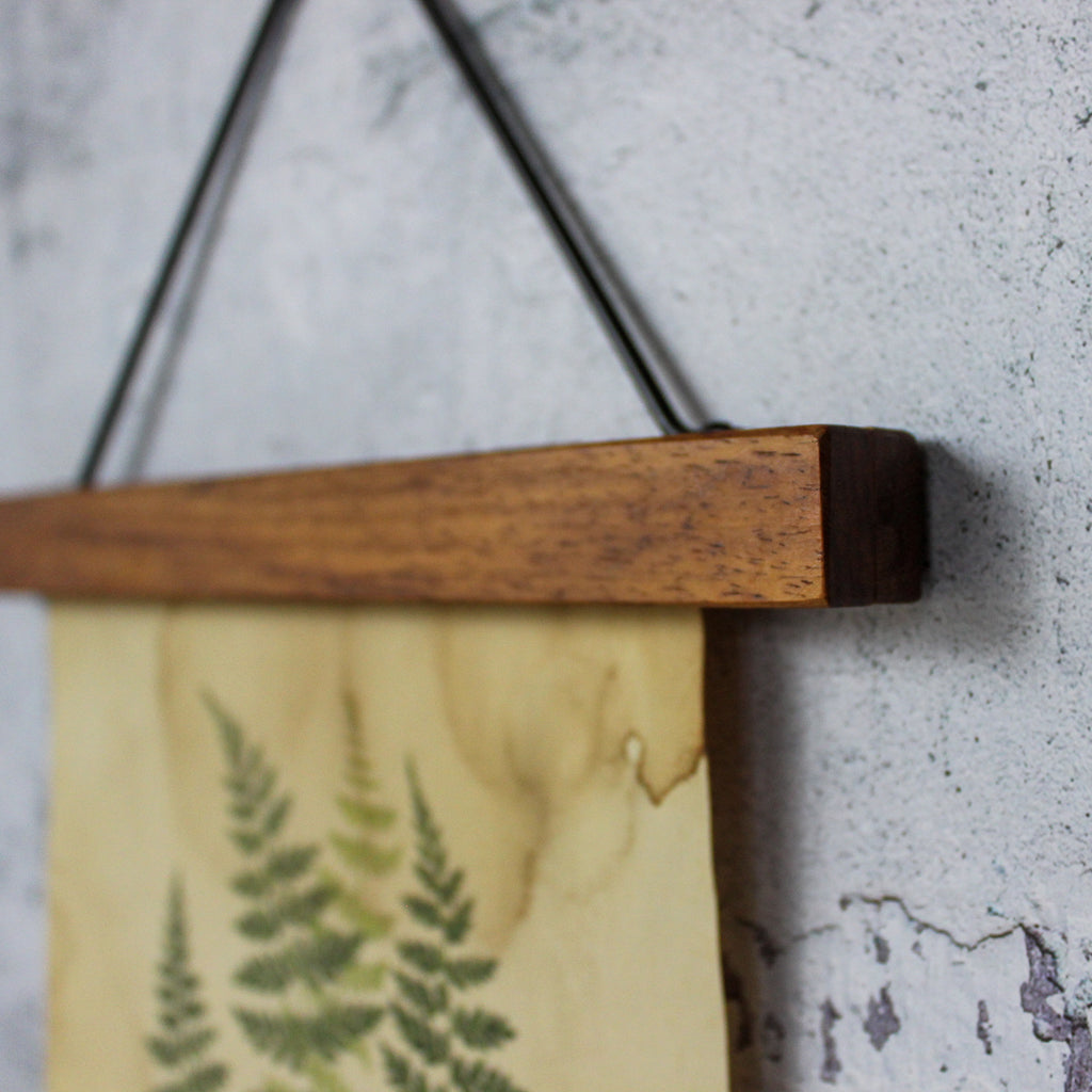 Wooden Hanging Binder