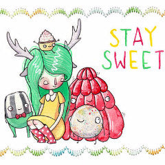 Stay Sweet Greeting Card