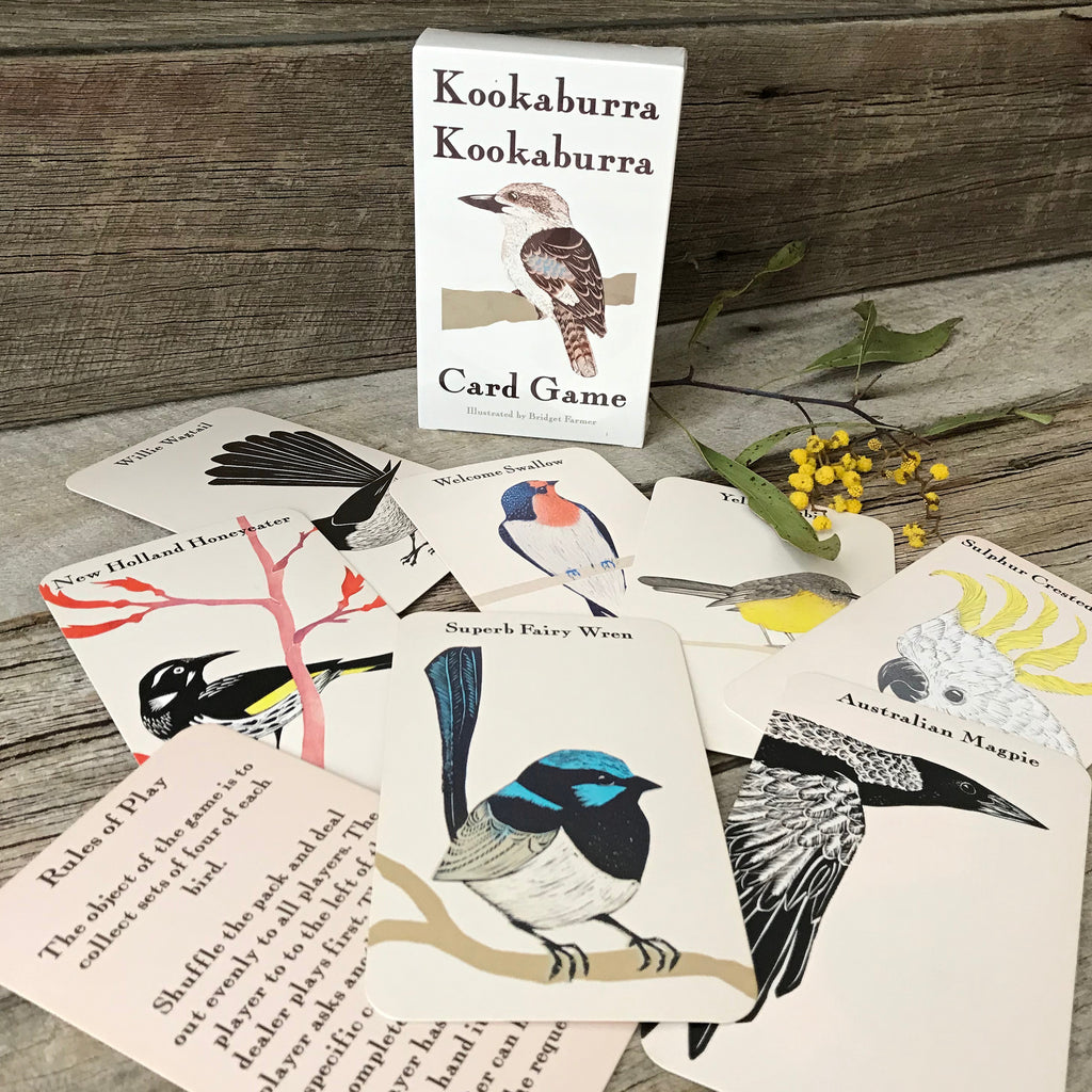 Kookaburra Card Game by Bridget Farmer at Tribe Castlemaine