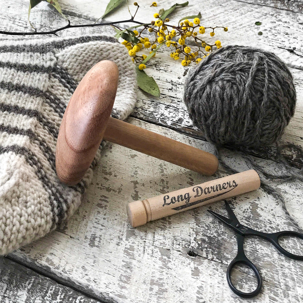 Wooden darning mushroom handmade by usethings