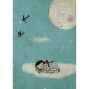 Formidable Forest Card 'Sleeping Moon'