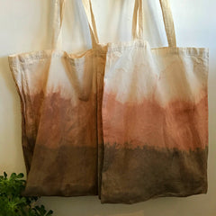 Eco Totes Naturally Dyed
