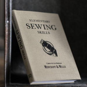 The essential sewing companion, Elementary Sewing Skills Book from Merchant & Mills at Tribe Castlemaine.