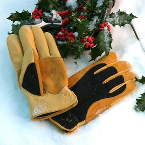 Gold Leaf  Winter Touch Gardening Gloves