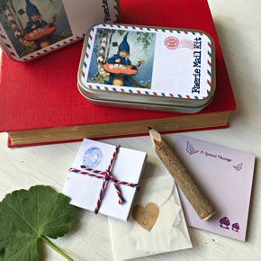 Cute and whimsical miniature writing set perfect for notes to fairies and secret letters to friends at Tribe Castlemaine