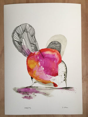 Fledgling Print by Katherine Wheeler