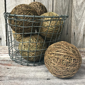Handspun hemp twine, a beautiful, natural craft material available from Tribe Castlemaine