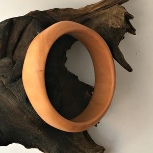 Handcarved Timber Bangles