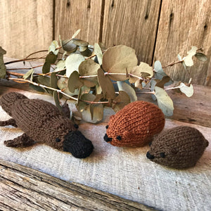 Knit your own Australian animals