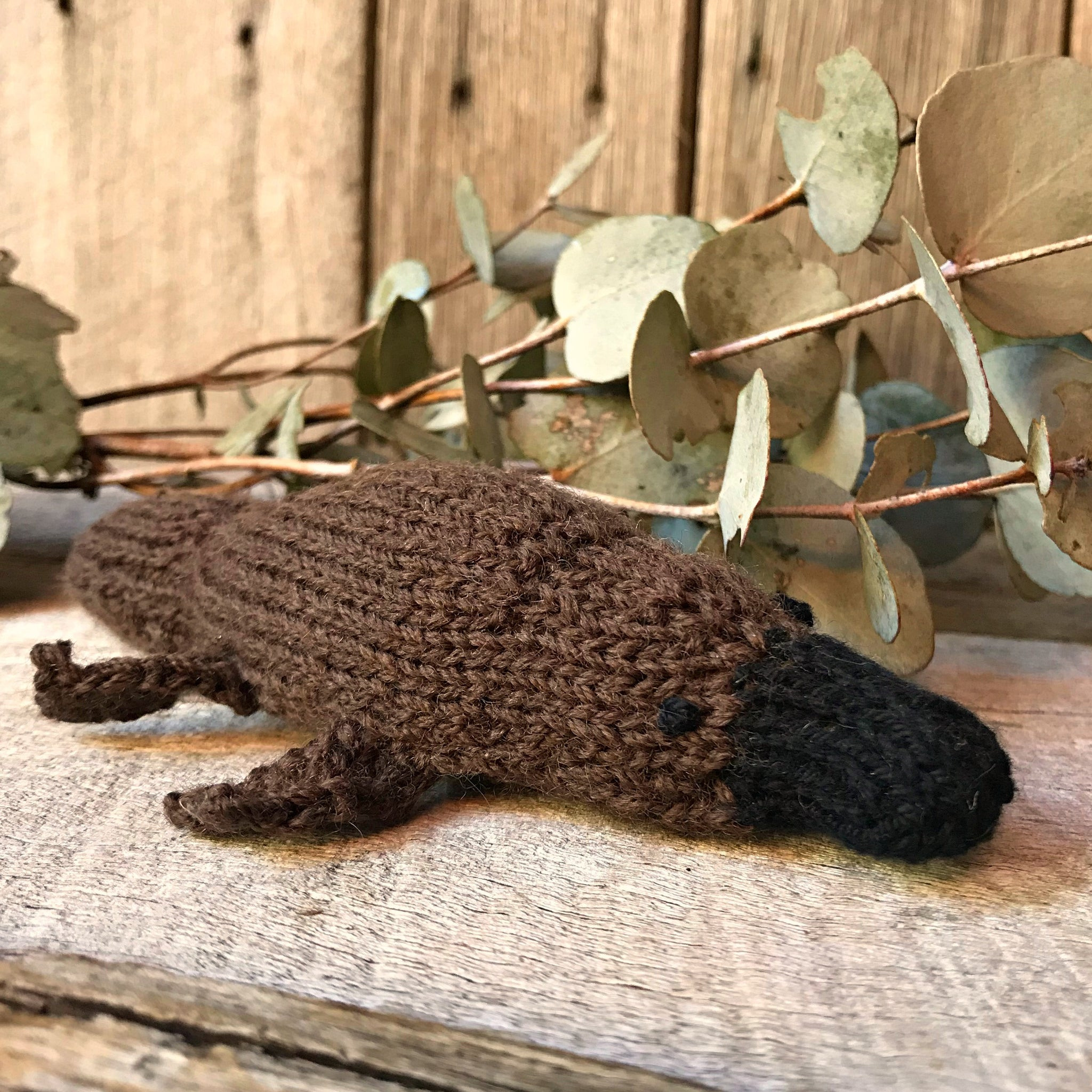 Little Platypus Knitting Pattern