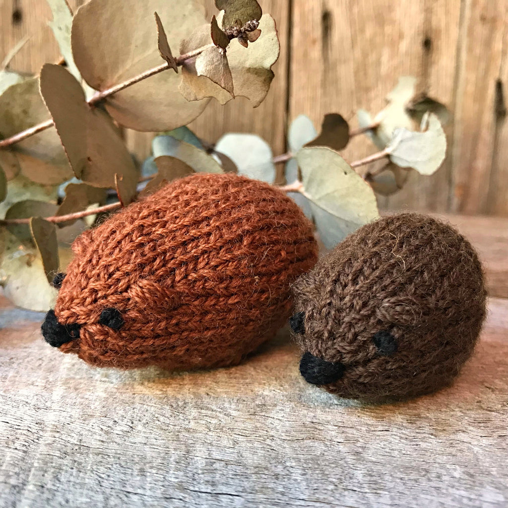 Little Wombat Knitting Pattern
