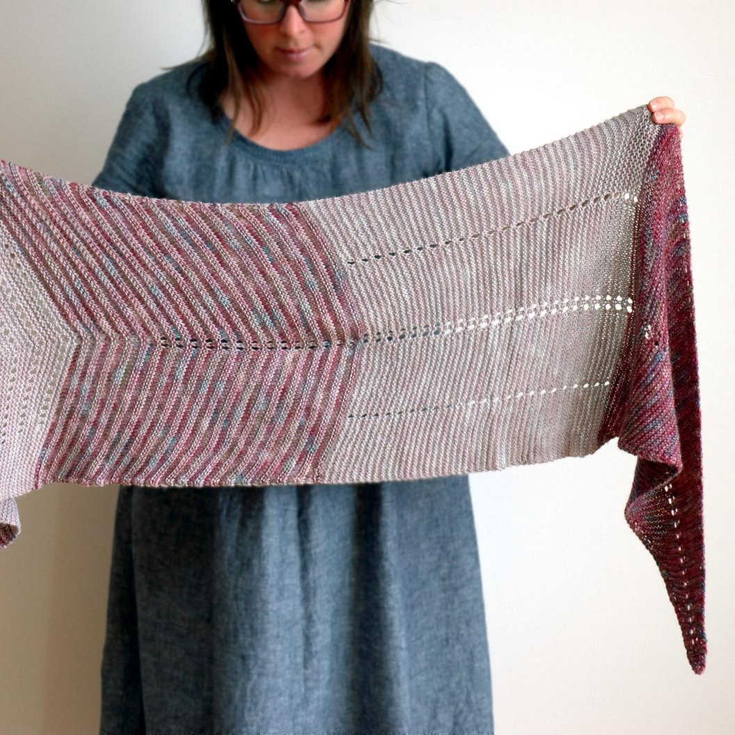 Meka Shawl Knitting Pattern