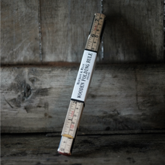 Merchant & Mills' traditional wooden folding ruler, great for sewing, from Tribe Castlemaine