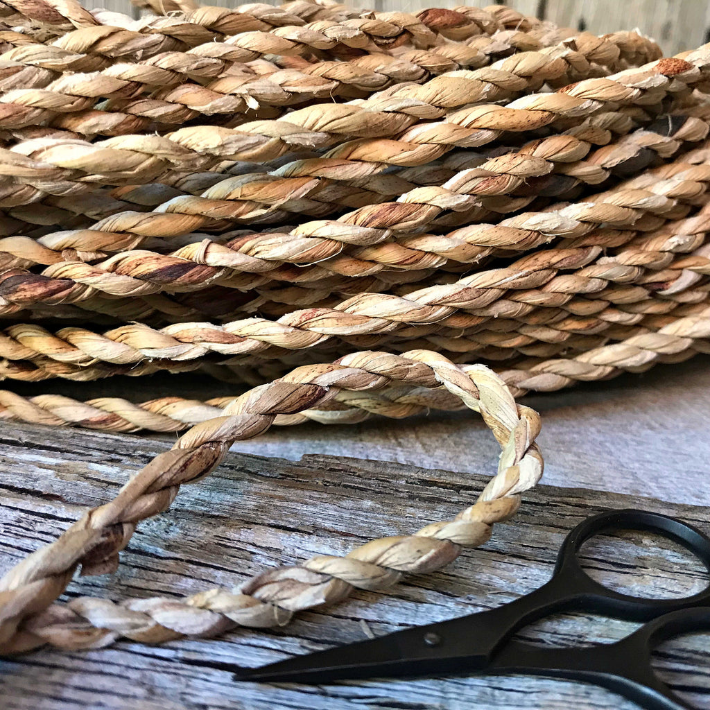 Natural handmade cordage sold by the metre