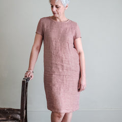 Easy-to-wear classic, the Camber Set Sewing Pattern from Merchant & Mills at Tribe Castlemaine.