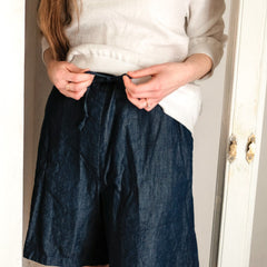 Merchant & Mills 101 Trouser Sewing Pattern, doubles as a short pattern, at Tribe Castlemaine