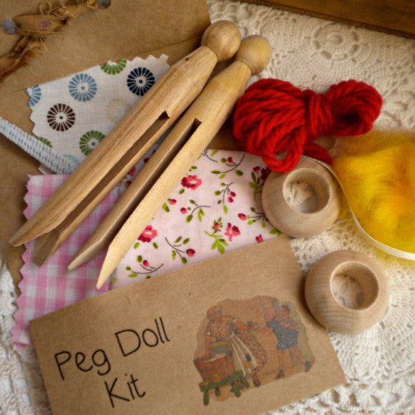 Peg Doll Craft Kit