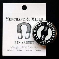 Superior quality, super handy pin magnet from Merchant & Mills at Tribe Castlemaine.