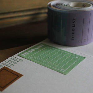 Planner note tape