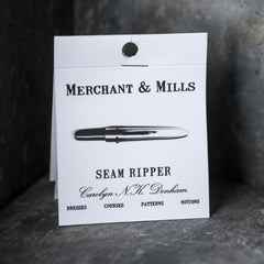 Sewing essential, super sharp seam ripper from Merchant & Mills at Tribe Castlemaine.