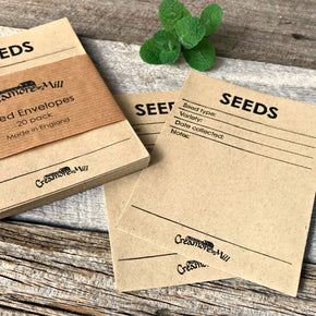 Seed envelopes, gift for gardeners, made by Creamore Mill buy in Australia at Tribe Castlemaine