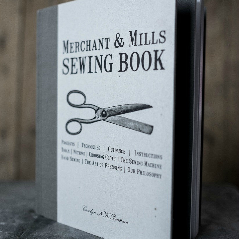 Sewing tools, techniques and 15 DIY projects in Merchant & Mills inspiring and informative Sewing Book at Tribe Castlemaine.