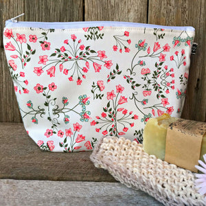 Large linen pouches, purses, handmade in Cambodia available at Tribe Castlemaine supporting Pure Dream Centre