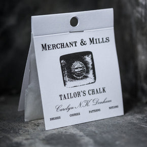 Superior haberdashery supplies, tailors chalk from Merchant & Mills at Tribe Castlemaine.