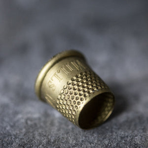 Superior haberdashery supplies,Tailor's Thimble from Merchant & Mills at Tribe Castlemaine.