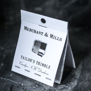 Superior haberdashery supplies, Tailor's Thimble from Merchant & Mills at Tribe Castlemaine.
