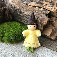 Fairies for fairy gardens and fairy houses handmade in Australia by Elfin Trail available at Tribe Castlemaine