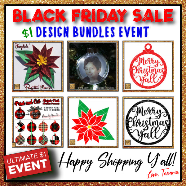 BLACK FRIDAY - SVG DESIGN -  SALE 2019 - ULTIMATE EVENT