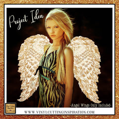 gold angel wings, sublimation design, angel wings clipart