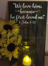 We Love Him Bible Verse Svg, Svg files for Cricut, Scripture Svg, Christian Svg, Svg files, Bible verse Dxf, love svg, Faith Svg, Walk by Faith Svg, dxf - Vinyl Cutting Inspiration