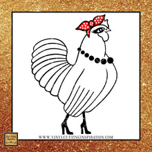 Chicken with Bandana Svg, Chicken Svg, Chicken Bandana Svg, Chicken SVG Cut File, Funny svg, Svg file, Bandana svg, Svg images, Cricut cutting files. Farm Svg, silhouette cut file - Vinyl Cutting Inspiration
