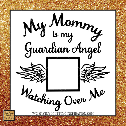 Guardian Angel Svg Angel Svg My Guardian Angel Svg Angel Wings Svg In Memory of Svg Heart SVG Memorial SVG Sympathy Svg Loss Svg Files Dxf - Vinyl Cutting Inspiration