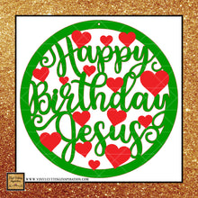 Happy Birthday Jesus Svg, Jesus Svg, Christmas Svg, Heart Svg, Christmas Ornaments, SVG Cutting Files for Cricut - Vinyl Cutting Inspiration