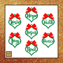 Farmhouse Christmas Ornament Bundle, 19 Designs Total, SVG, DXF, EPS, Pdf, Ai, Png, Jpeg Design Files - Vinyl Cutting Inspiration