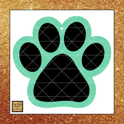 Paw Print, Paw Print Svg, Puppy Svg, Dog Svg, Animal SVG, Svg Files for Cricut, Svg Files for Silhouette, Animal Lover, Animal Rescue - Vinyl Cutting Inspiration