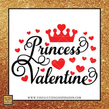 Princess Valentine Svg, Little Miss Valentine SVG,  Valentine svg, Princess svg, Love Svg, Heart Svg, Valentine's Day Svg - Vinyl Cutting Inspiration