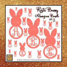 Rustic Bunny Monogram Bundle, Easter Bunny Monogram Bundle, Svg, Easter Svg, Bunny Svg, Rabbit Svg, Easter Cut Files, Happy Easter Svg, Cricut Cut Files, Silhouette Cut - Vinyl Cutting Inspiration