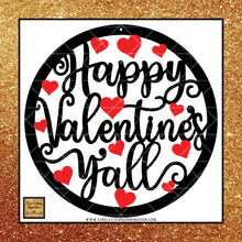 Happy Valentine's Day Y'all Svg, Valentines Day Svg, Valentine Svg, Valentines Svg, Love Svg, Heart Svg, Love Heart Svg, Cutting Files Cricut, Svg Files - Vinyl Cutting Inspiration
