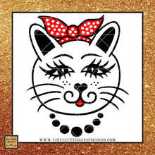 Cat with Bandana svg, Cat Svg, Kitten Svg, Cat Drawing, Cat clipart, Crazy Cat Lady svg, Cutting files for cricut and silhouette, svg files - Vinyl Cutting Inspiration