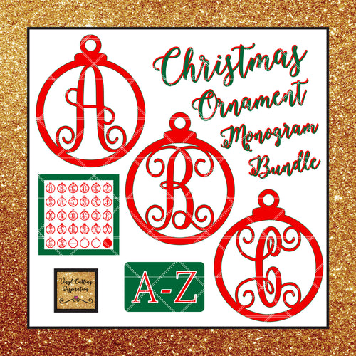Christmas SVG, Christmas Ornaments, Christmas Svg, Christmas Monogram Svg, Christmas Svg Bundle, Winter Svg, Merry Christmas Svg Bundle,Svg, Dxf files, cutting files, scroll saw patterns, svg images, svg files, cut file - Vinyl Cutting Inspiration