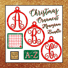 Crafty Christmas Bundle - FREE MONOGRAM SVG Christmas Ornament Bundle with purchase! - Vinyl Cutting Inspiration